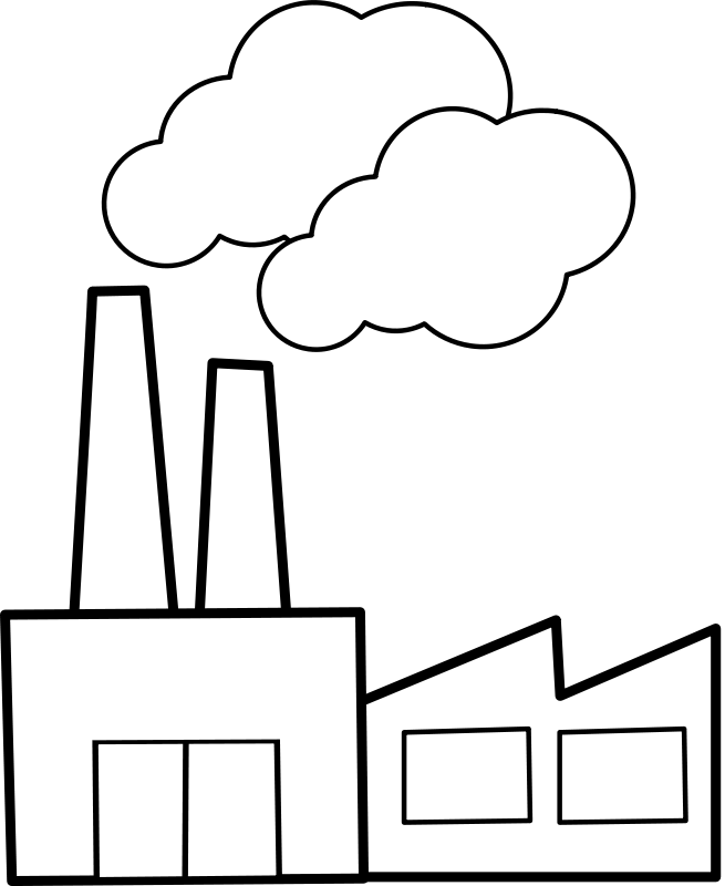 Free Clip Art Usine Factory By Lmproulx