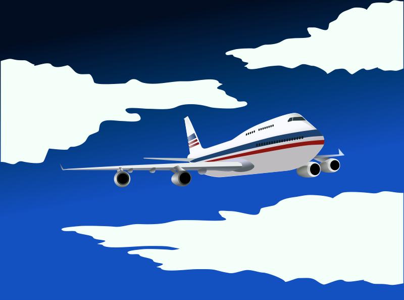 Free Clip Art Plane By Felipecaparelli