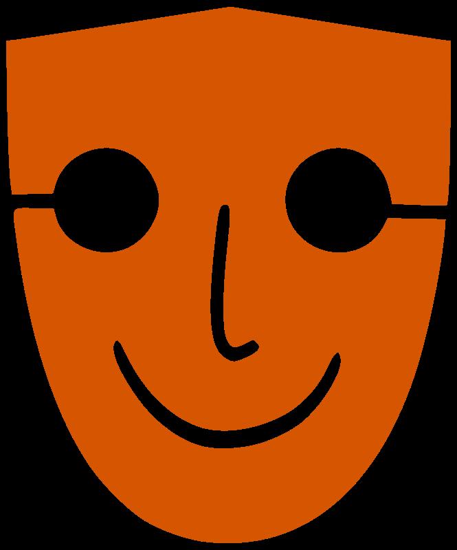 """Free clip art """"Human Face Mask"""" by navaneethks"""