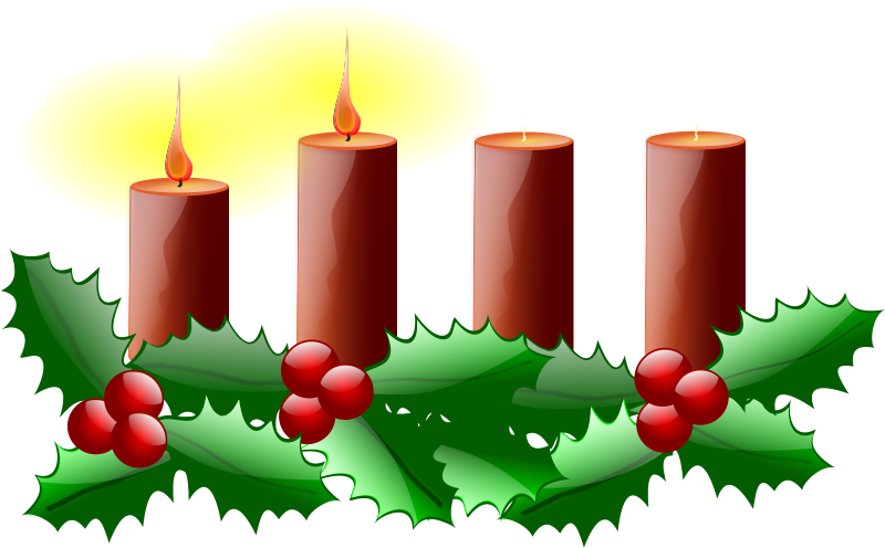 Advent second sunday. Free clip art of