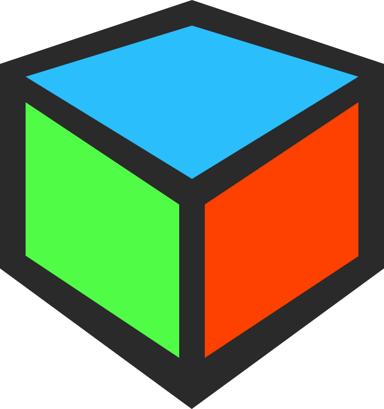 Free Clip Art 3d Cube Icon By Qubodup