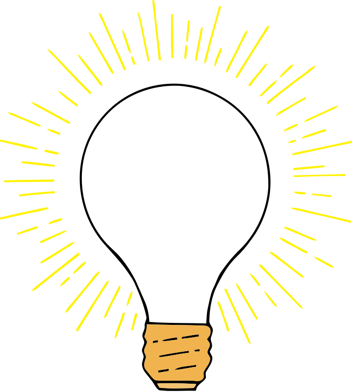 "Free clip art ""Lightbulb 2"" by TikiGiki"