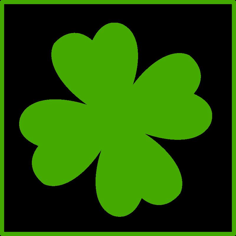 картинка цветочек зеленый стоя