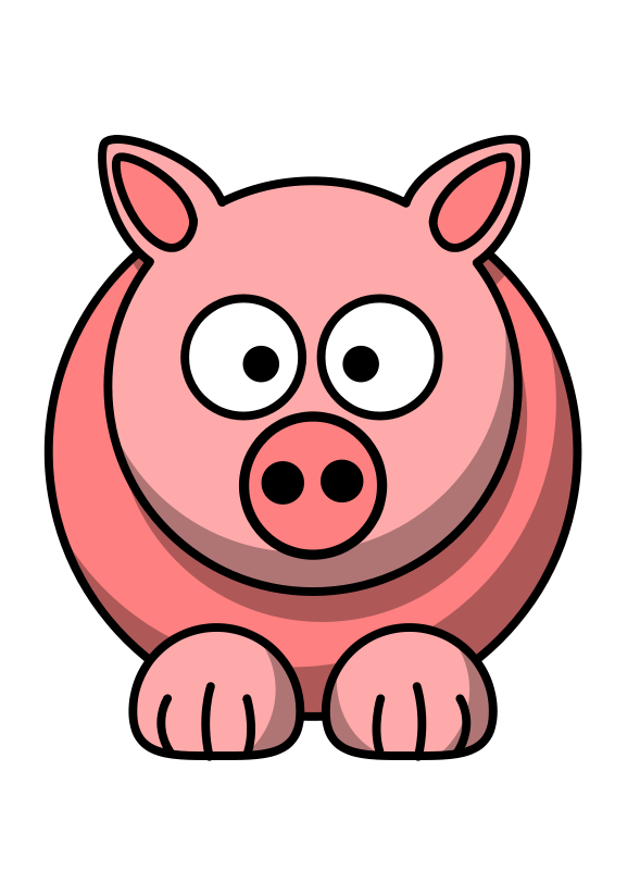 Free Clip Art Cochon By Yves Guillou