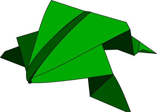 Origami Frog - YouTube | 429x600