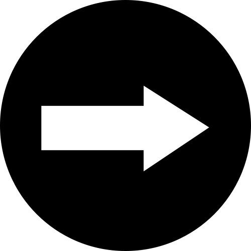 Directional arrow right icon