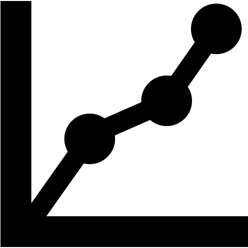 Stats graph icon