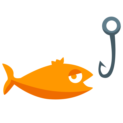 Material fishing icon