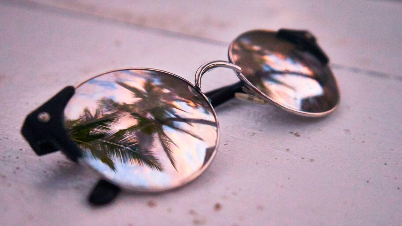 """Free photo """"Sunglass Reflection"""""""
