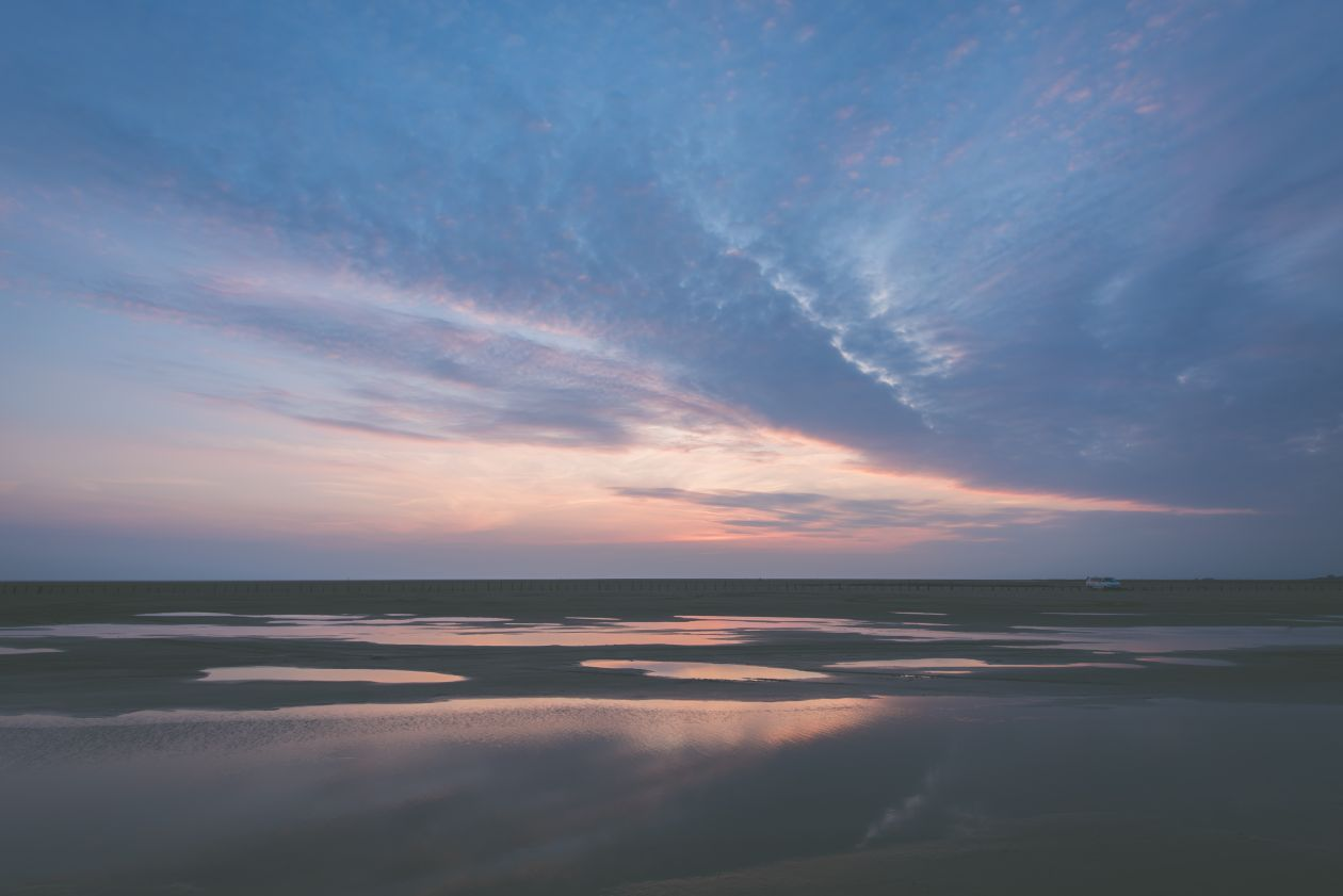 "Free photo ""Sunset over the Ocean"" by Jan Erik Waider"