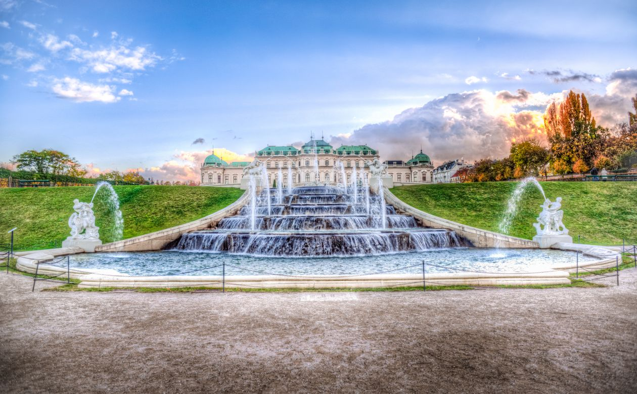 """Free photo """"Schloss Belvedere"""""""