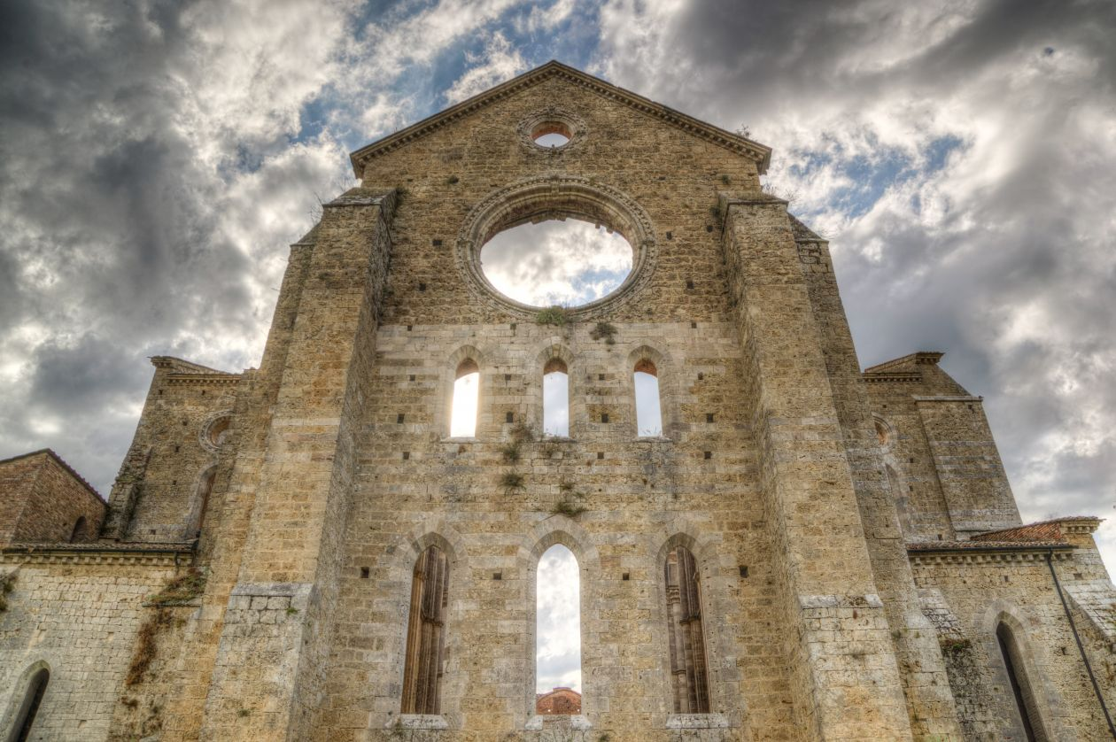 "Free photo ""Abbey ruins"""