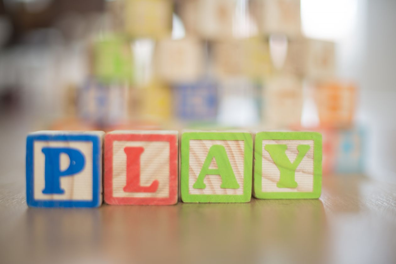 "Free photo ""Playing with letters"""