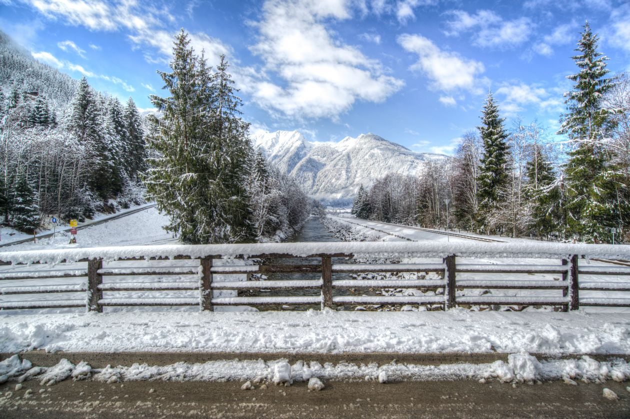 """Free photo """"Winter landscape in stacked focus"""""""