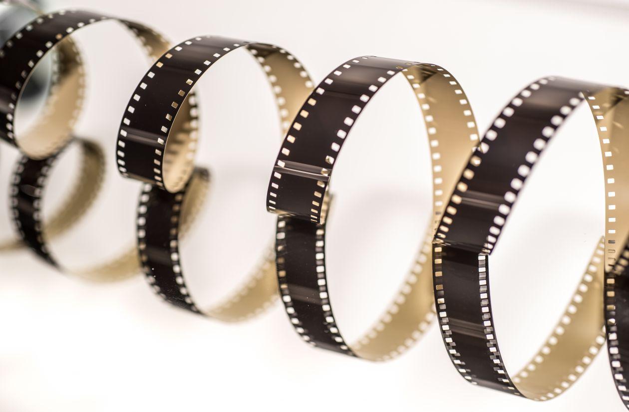"Free photo ""8mm film helix"""