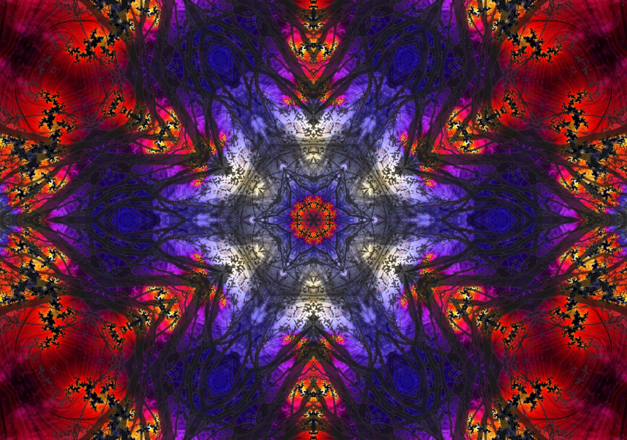 "Free photo ""Kaleidoscope 90"""