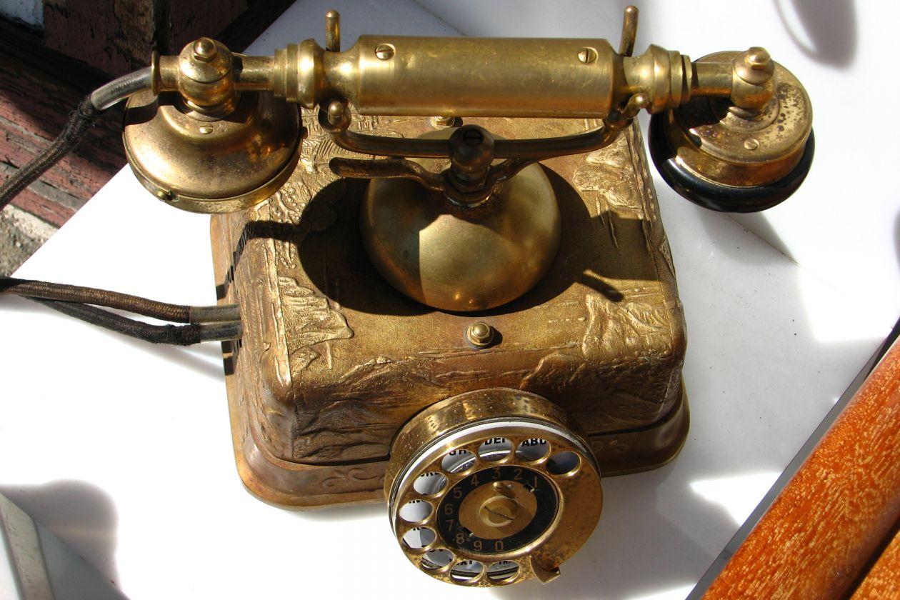"Free photo ""Old telephone"""