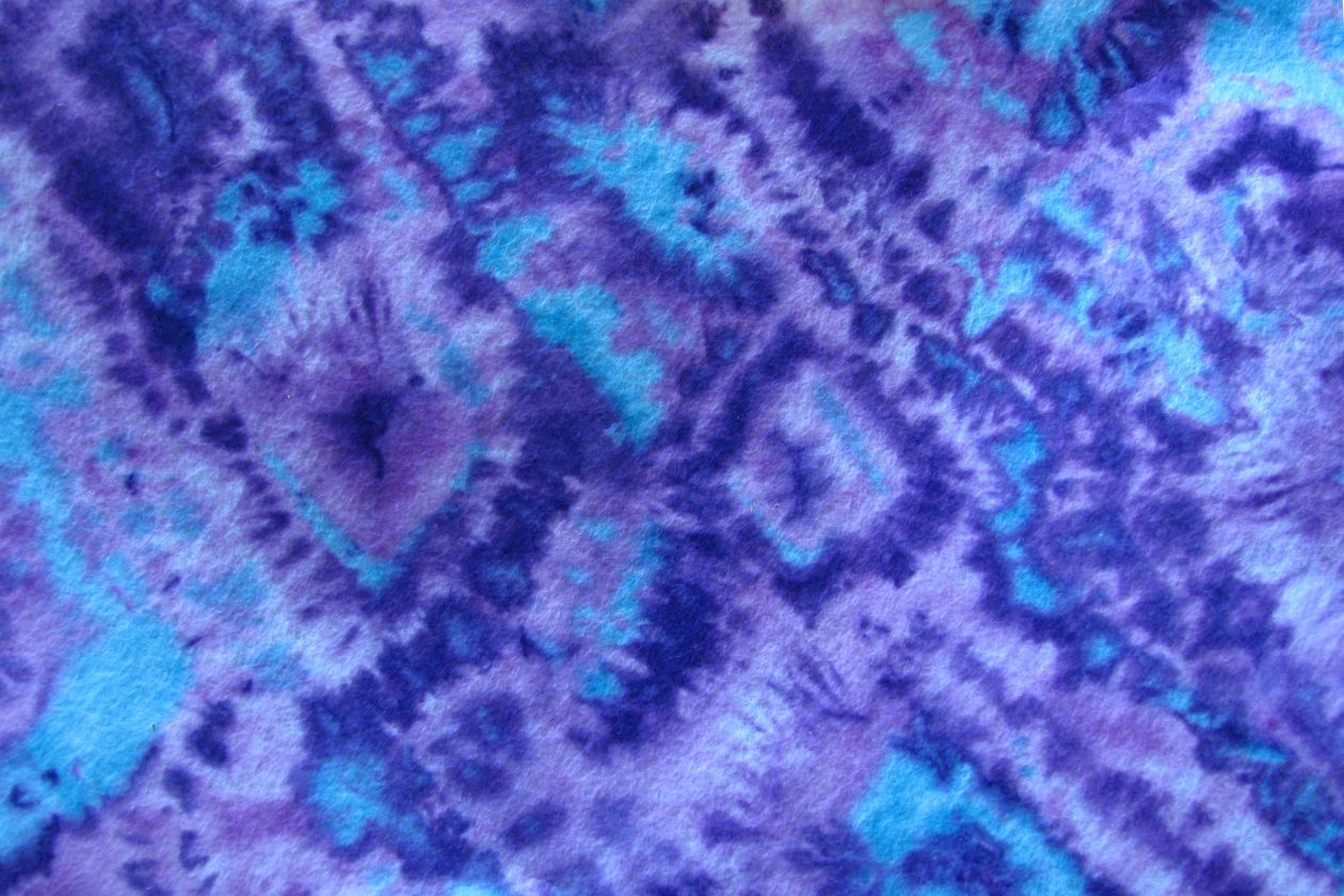 "Free photo ""Blue-and-purple tie-dyed paper"""