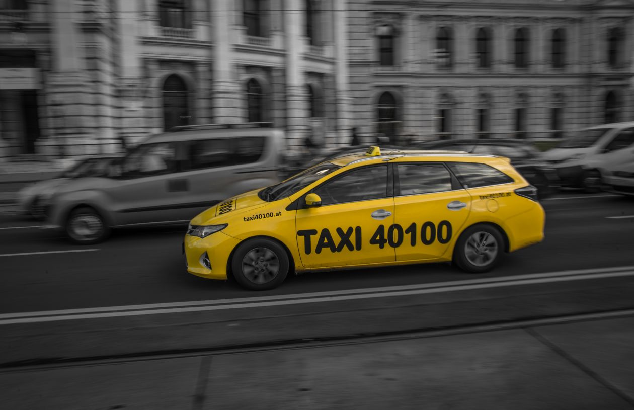 "Free photo ""Yellow taxi"""