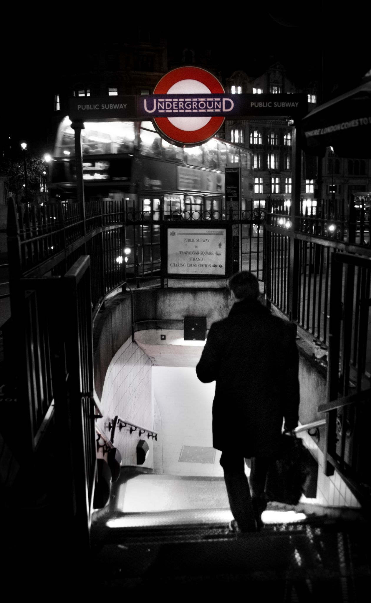 """Free photo """"London in Black and White"""""""
