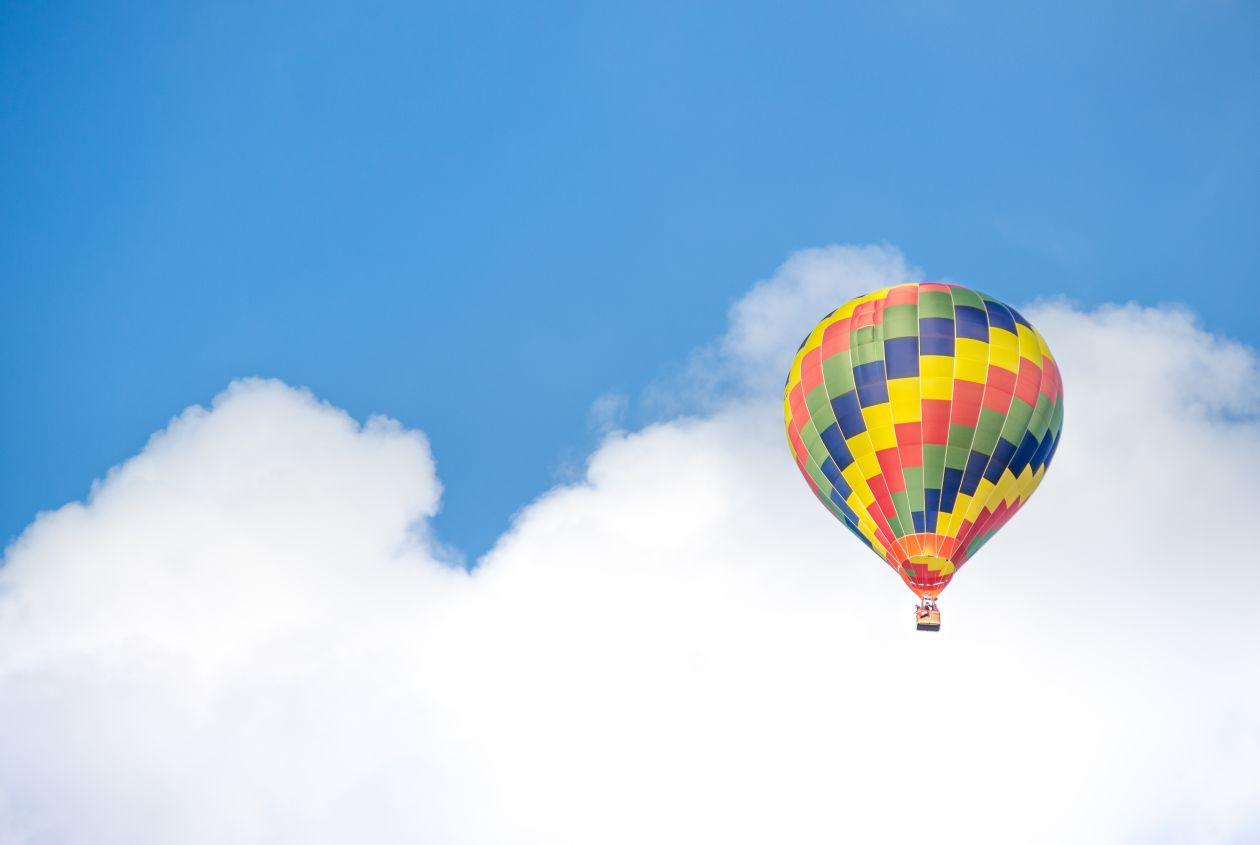 """Free photo """"Hot air balloon"""""""