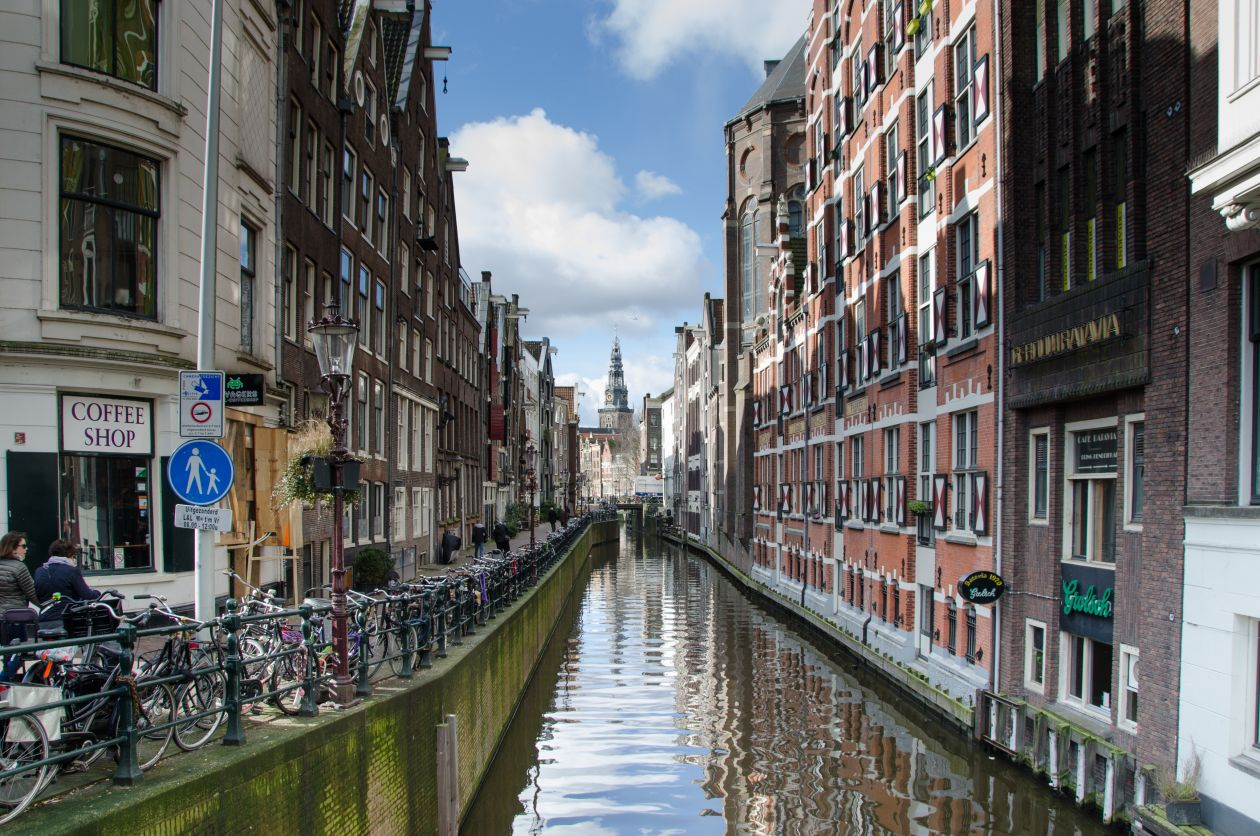 "Free photo ""Amsterdam canal"""