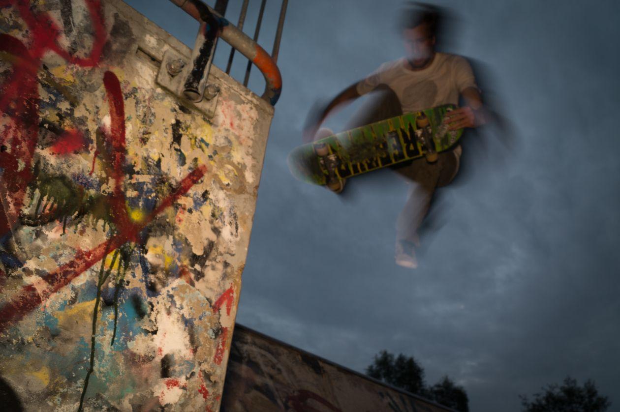 """Free photo """"Vague skater"""""""