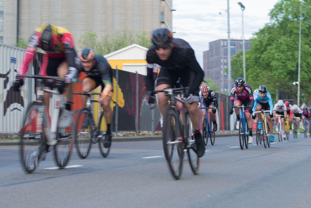 "Free photo ""Race cyclists"""