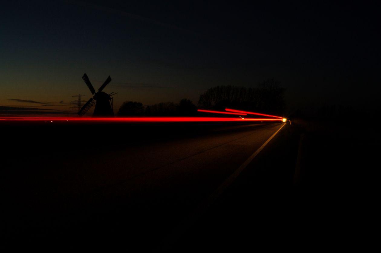 "Free photo ""Long exposure at night"""