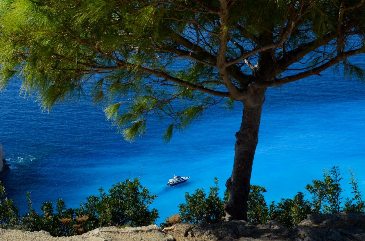 "Free photo ""Cliffs in Greece"""