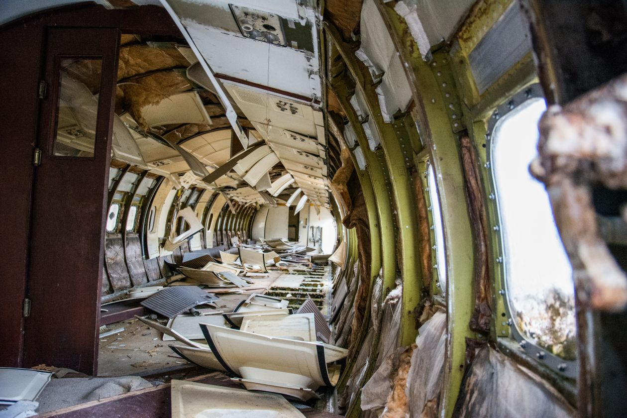 "Free photo ""Plane wreck"""