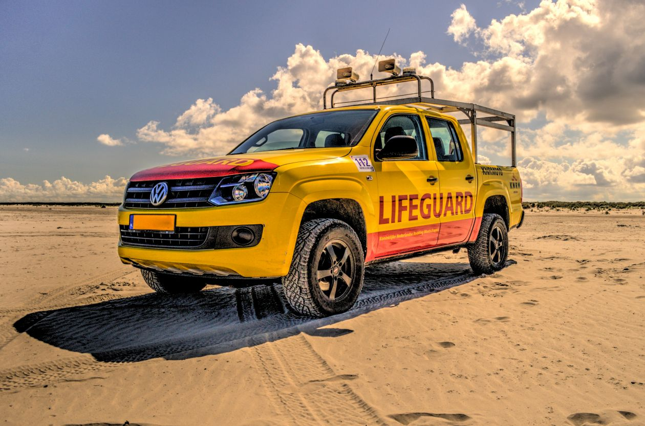 "Free photo ""Lifeguard truck"""