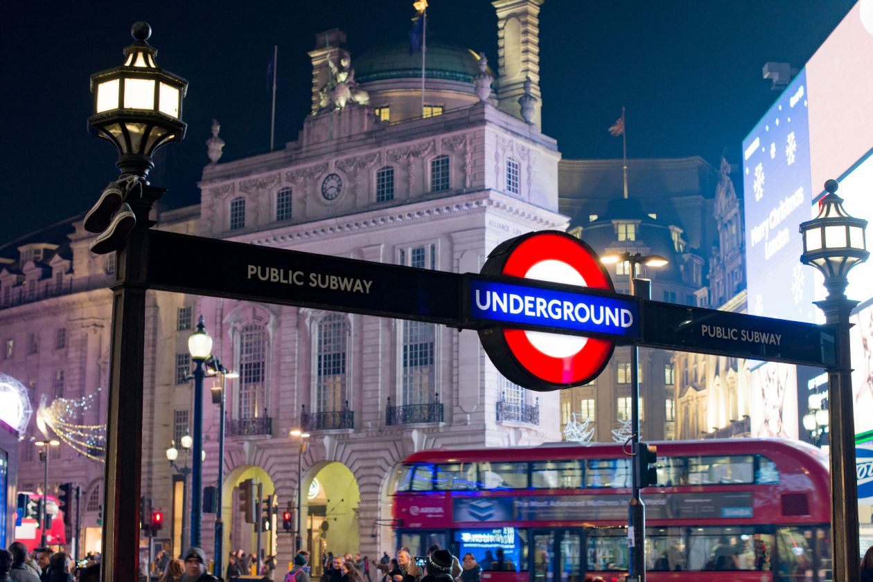 "Free photo ""Underground London"""