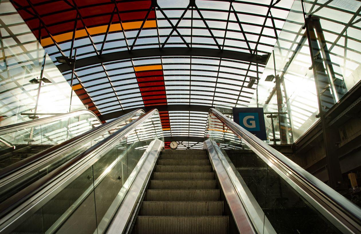 "Free photo ""Escalator"""