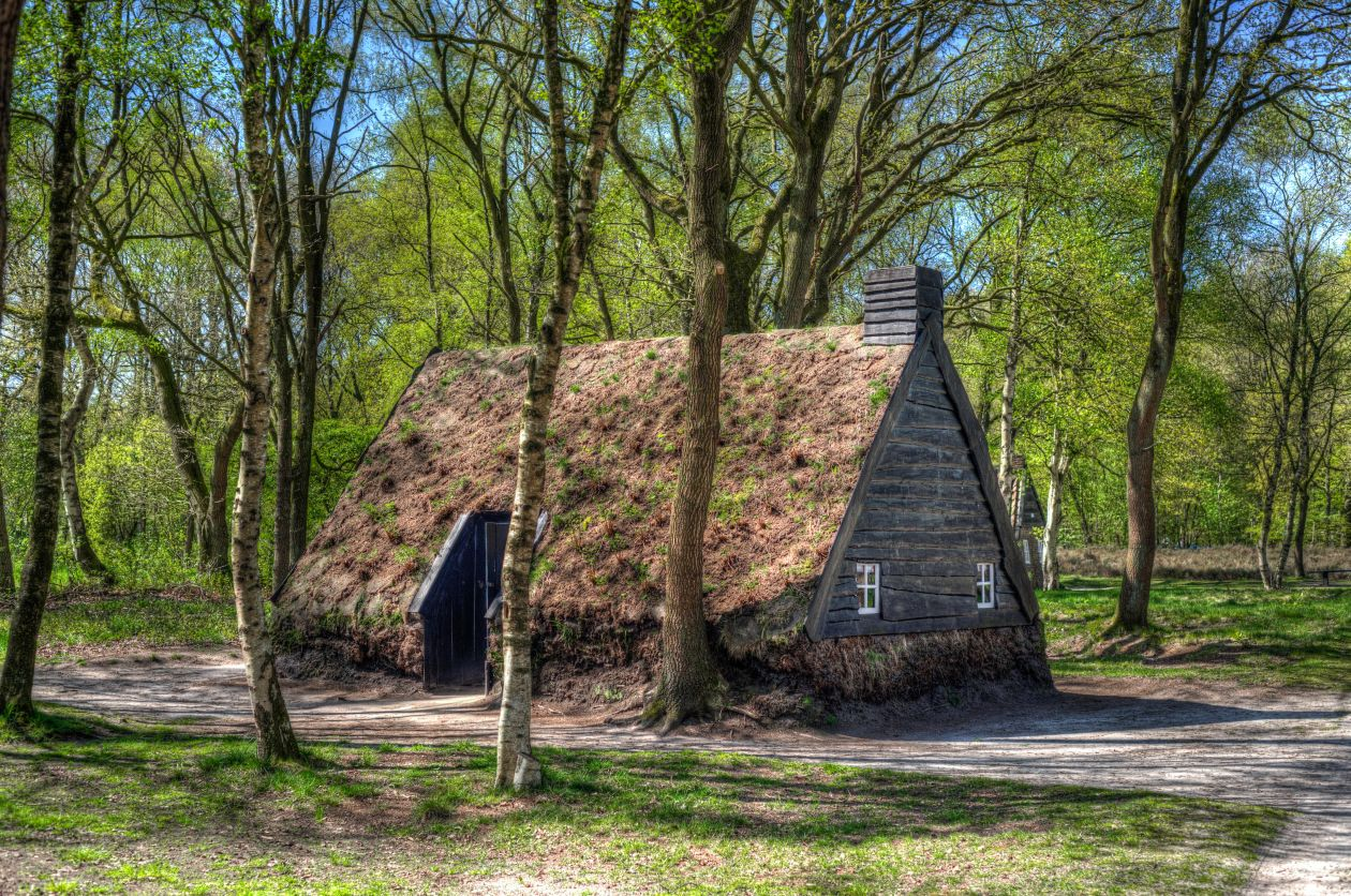 "Free photo ""Peat house"""
