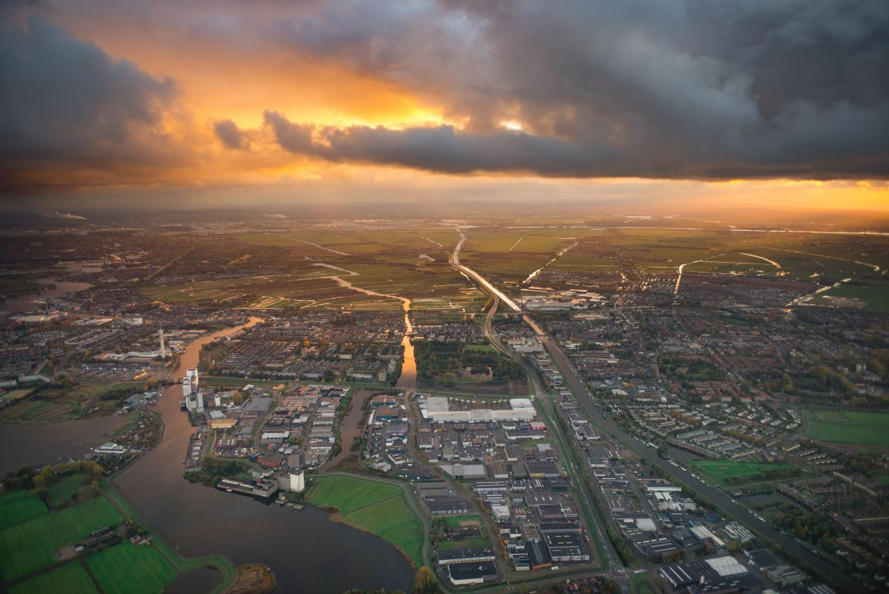 "Free photo ""Holland aerial """