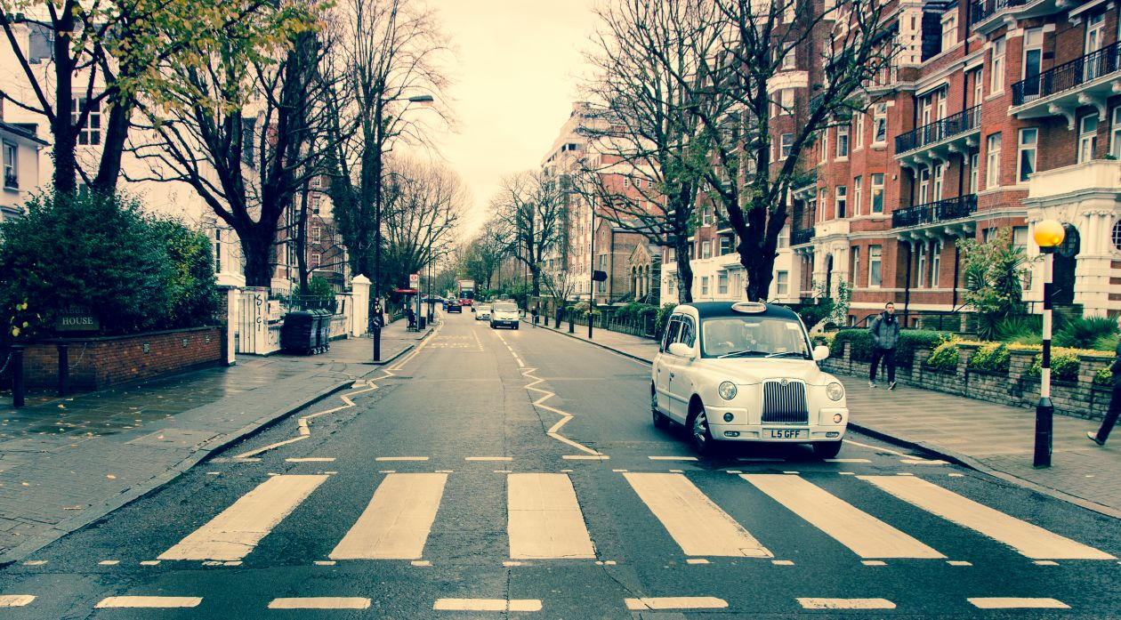 "Free photo ""Abbey road"""