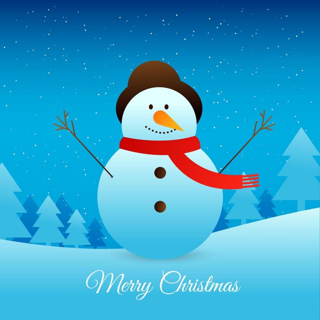 "Free vector ""Christmas vector illustration with Christmas tree"""