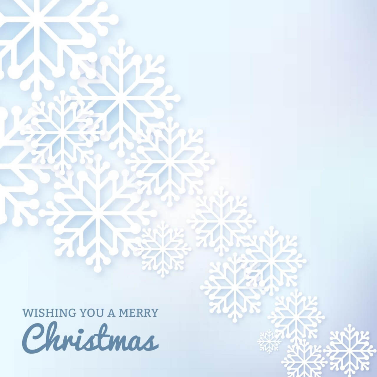 "Free vector ""Christmas background with typography and snow flake"""