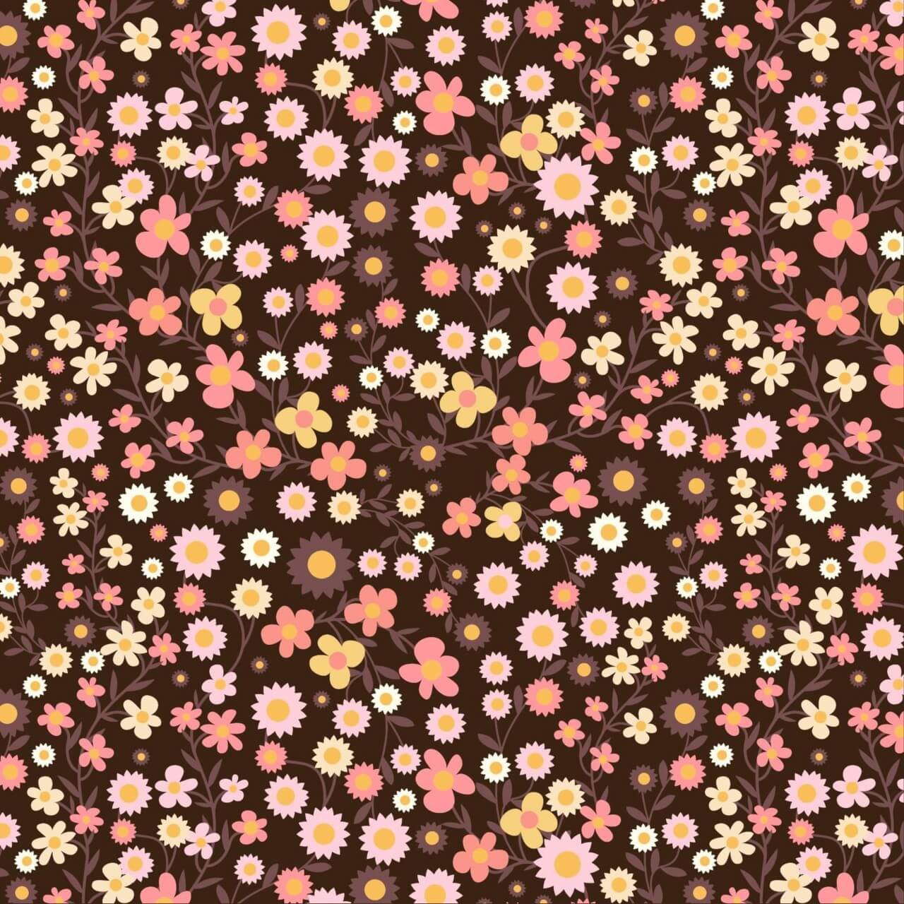 """Free vector """"Floral pattern"""""""