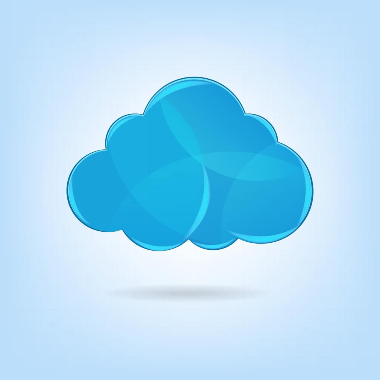 "Free vector ""Cloud Computing Concept"""