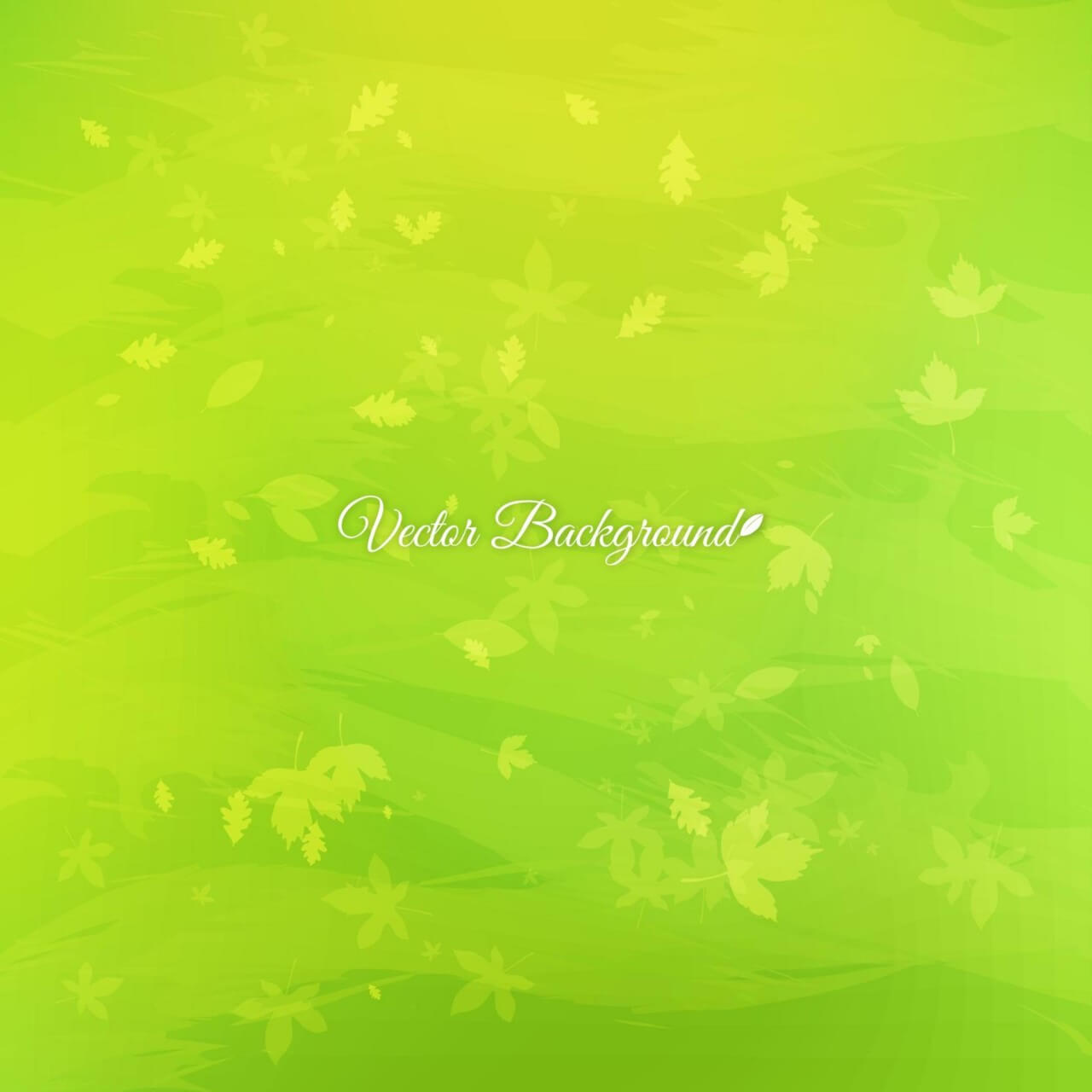 "Free vector ""Green leaves abstract background"""
