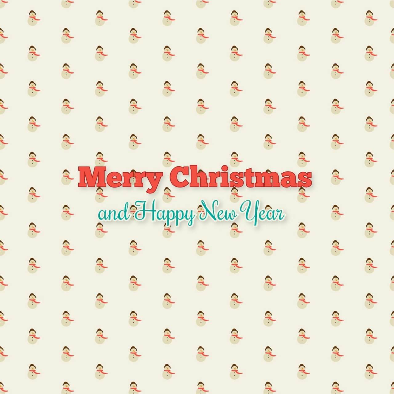 """Free vector """"Christmas pattern"""""""