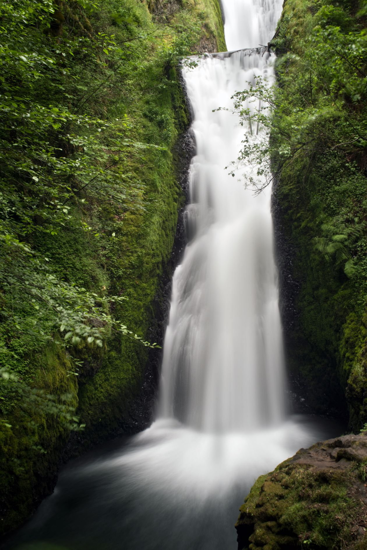"Free photo ""Bridal Veil Falls, OR"" by Tim Mossholder"