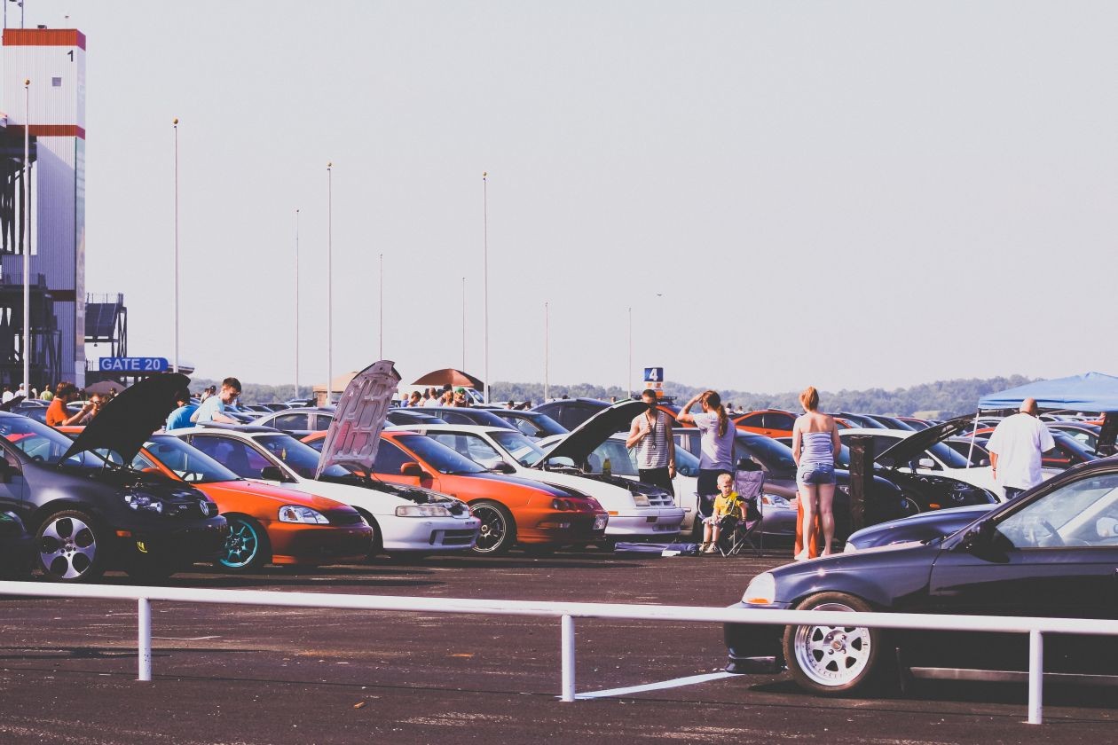 """Free photo """"Parking lot"""" by Parker Gibbs"""