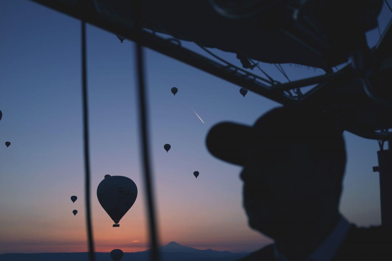 """Free photo """"Hot air balloon"""" by Catt Liu"""