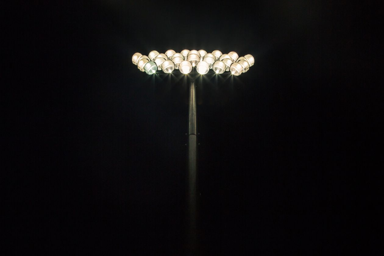 "Free photo ""Floodlights"" by Matthew Henry"