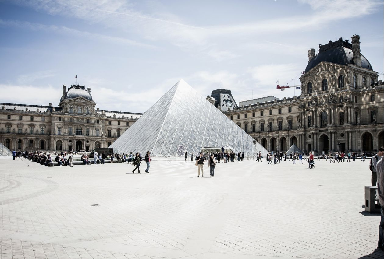 "Free photo ""Louvre"" by Stacy Wyss"