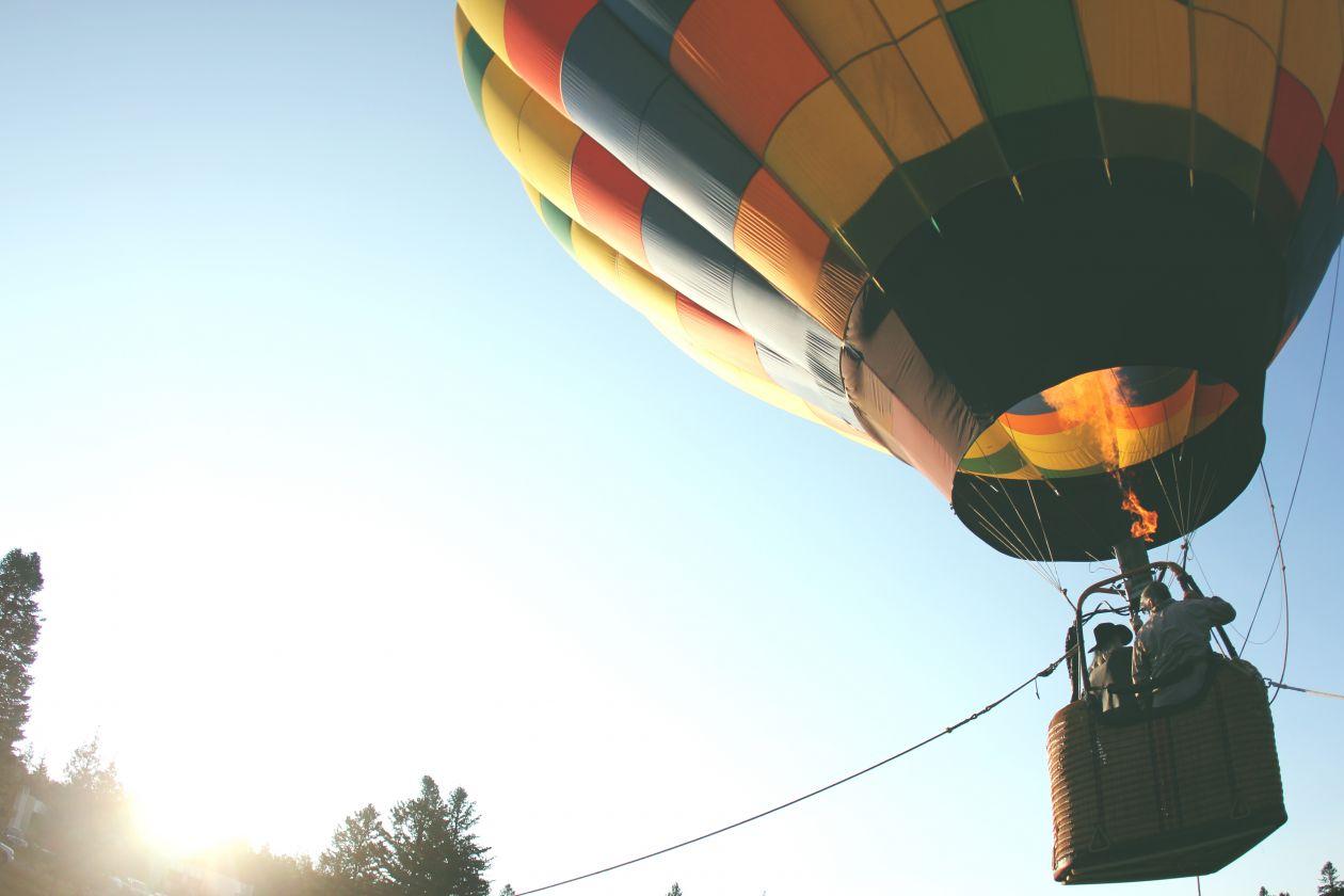 """Free photo """"Hot air balloon"""" by Austin Ban"""