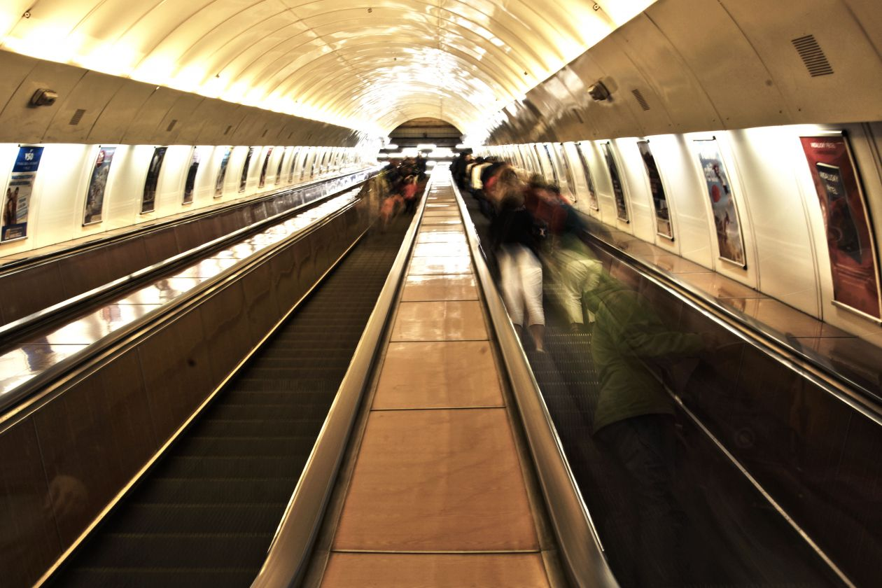 "Free photo ""Escalator"" by Sam X"